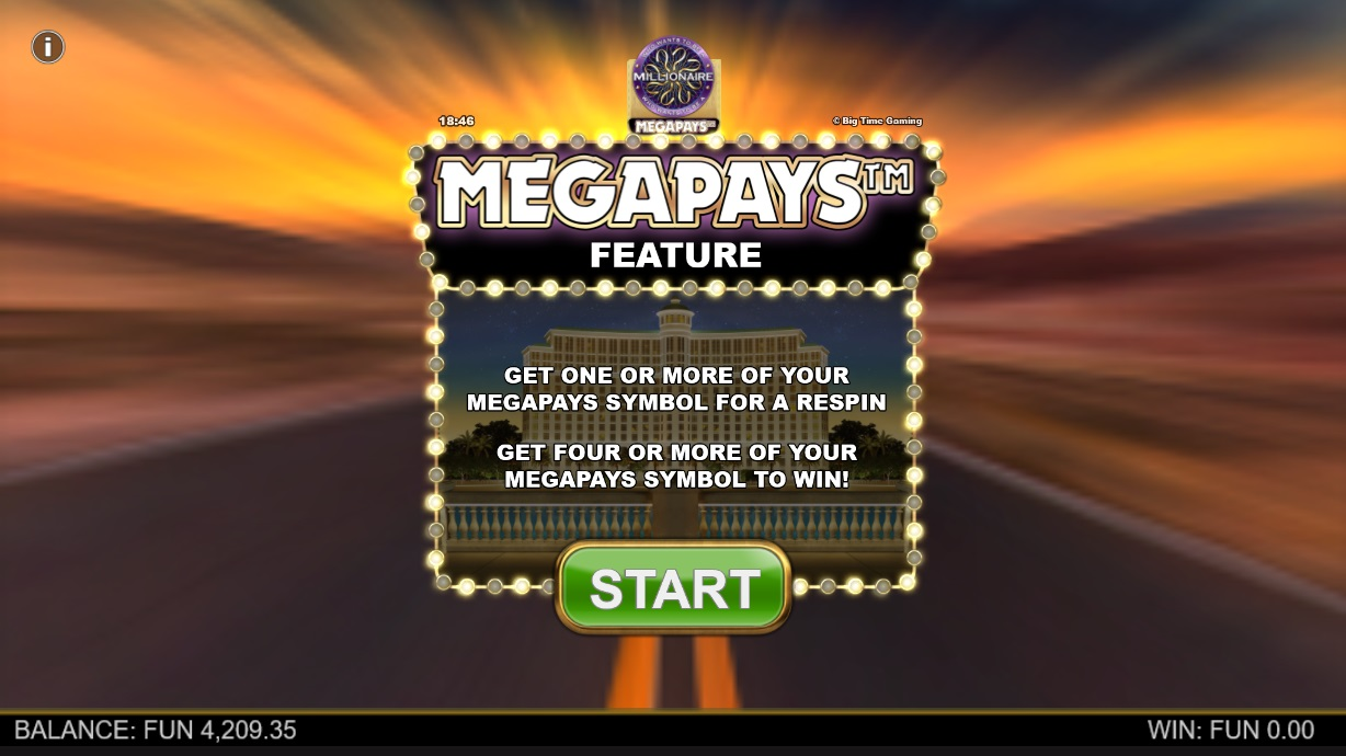How to win big in Who Wants to Be a Millionaire Megapays – Megapays Feature
