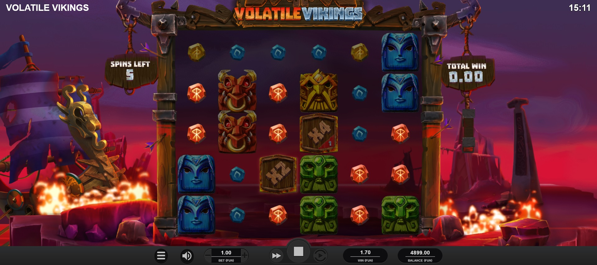 How to win big in Volatile Vikings – Free Spins feature