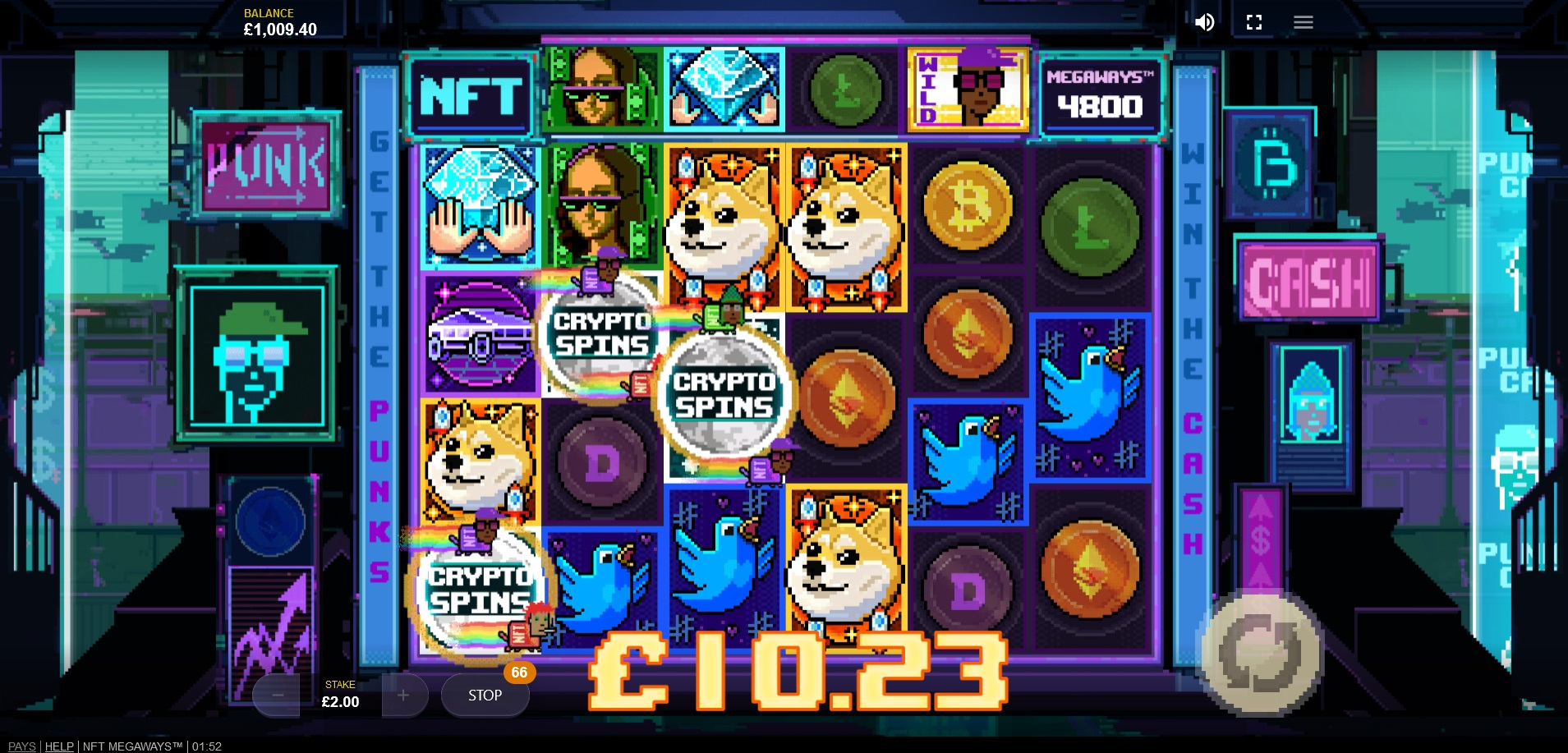 How to win big in NFT Megaways – Crypto Spins