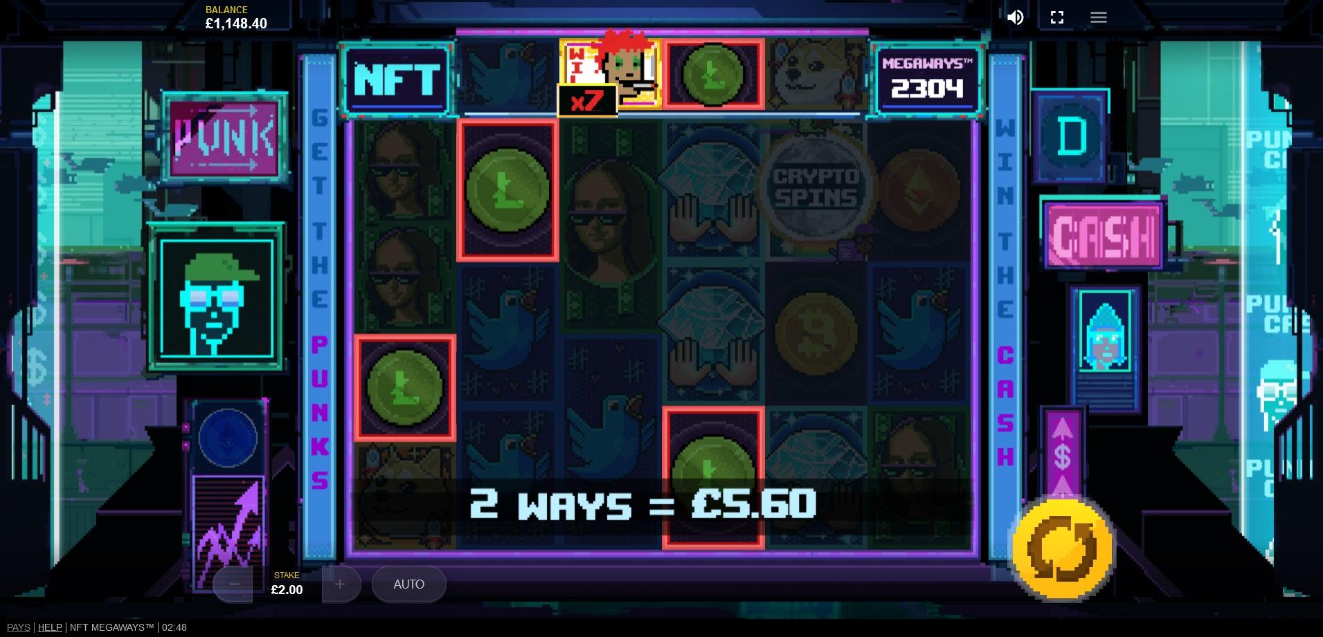 NFT_Megaways_-_Base_Game_Wild_Multipliers