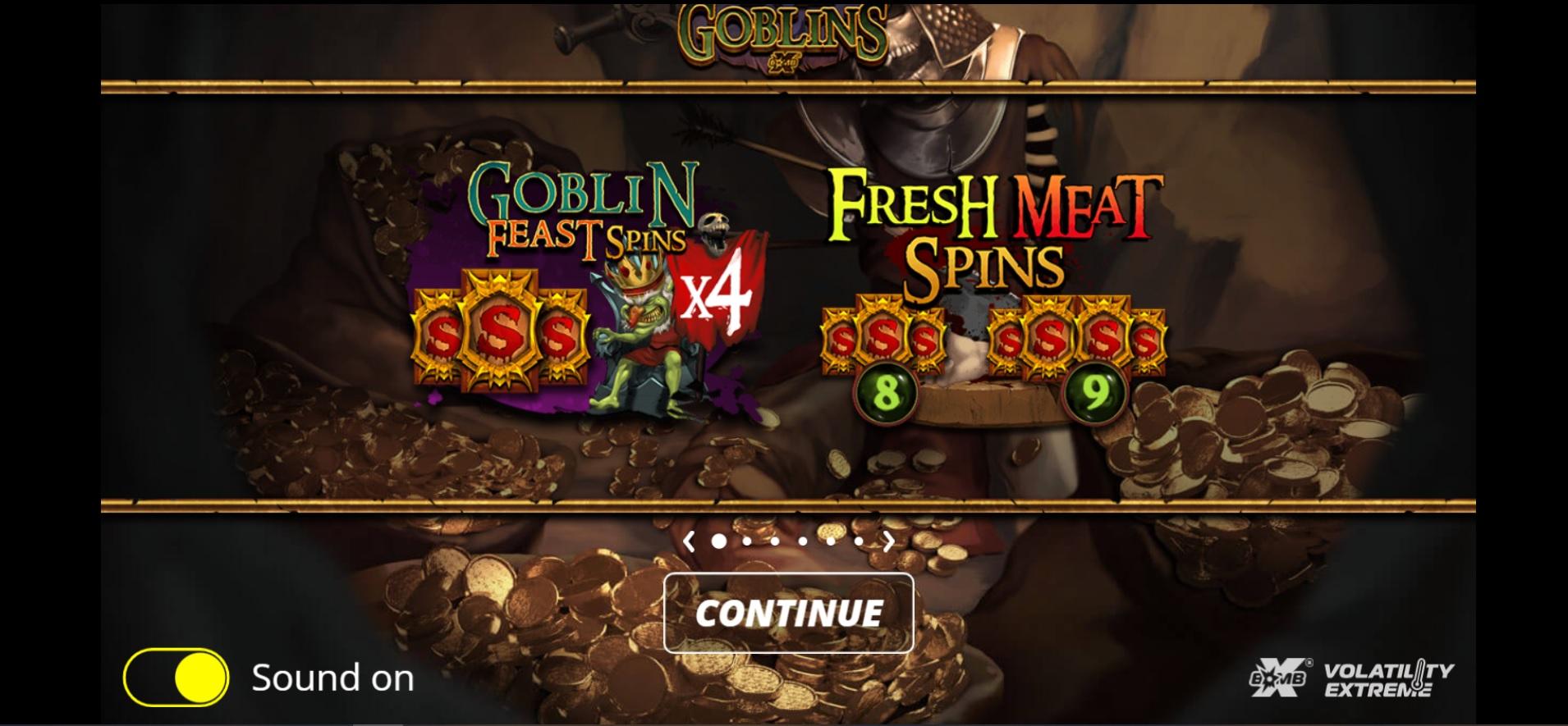 Evil Goblins Splash Screen