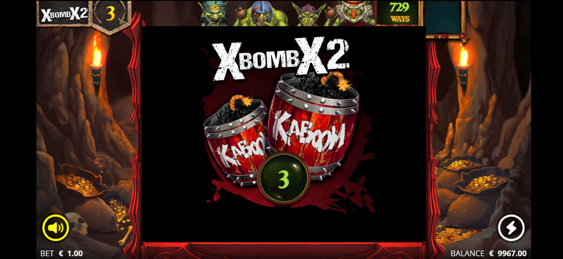 How to win big in Evil Goblins xBomb – xBomb feature