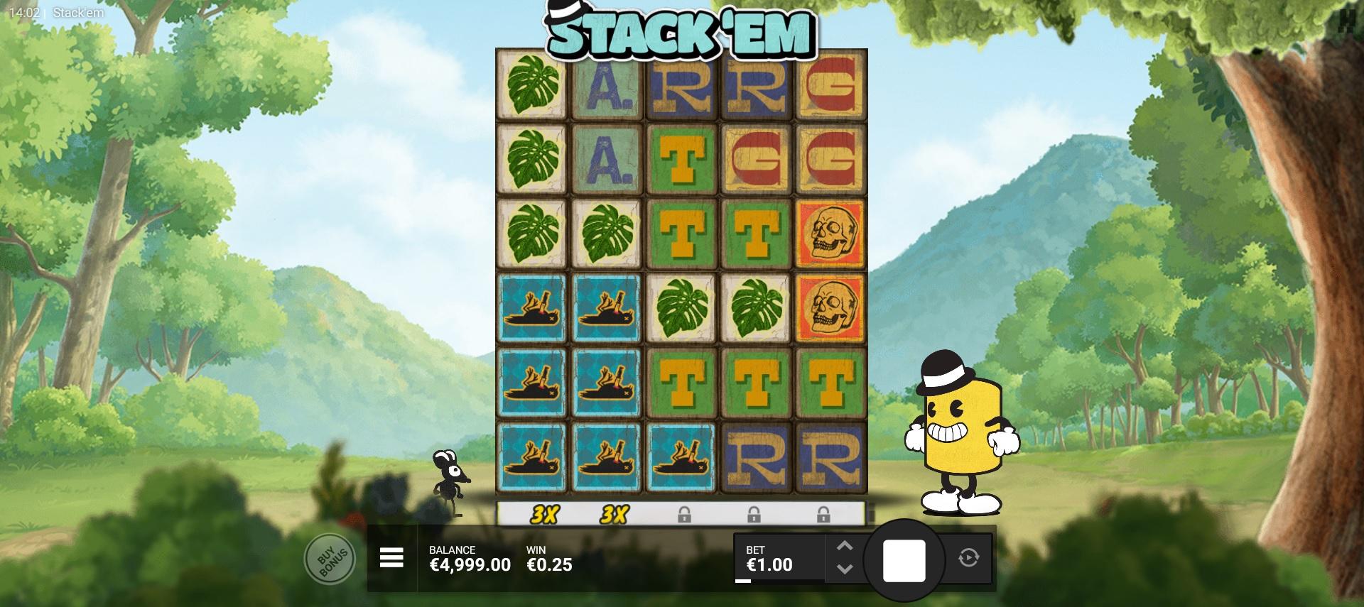 Stack Em reel main game