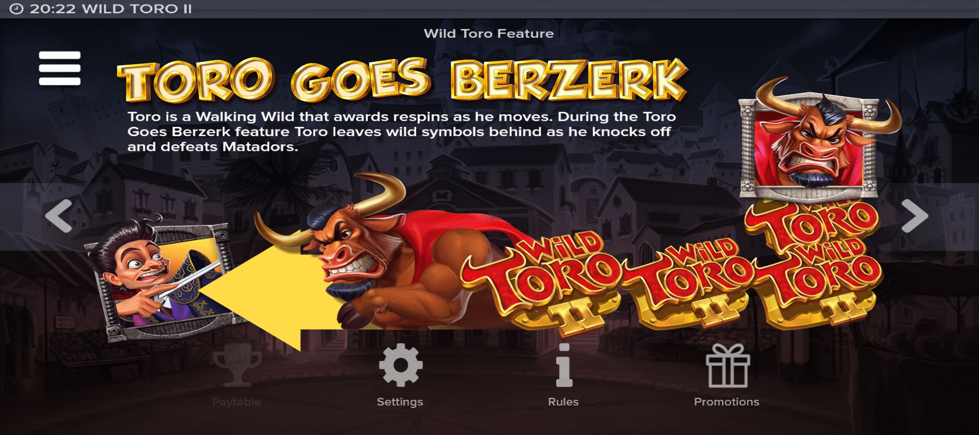 Wild Toto 2 Special Features