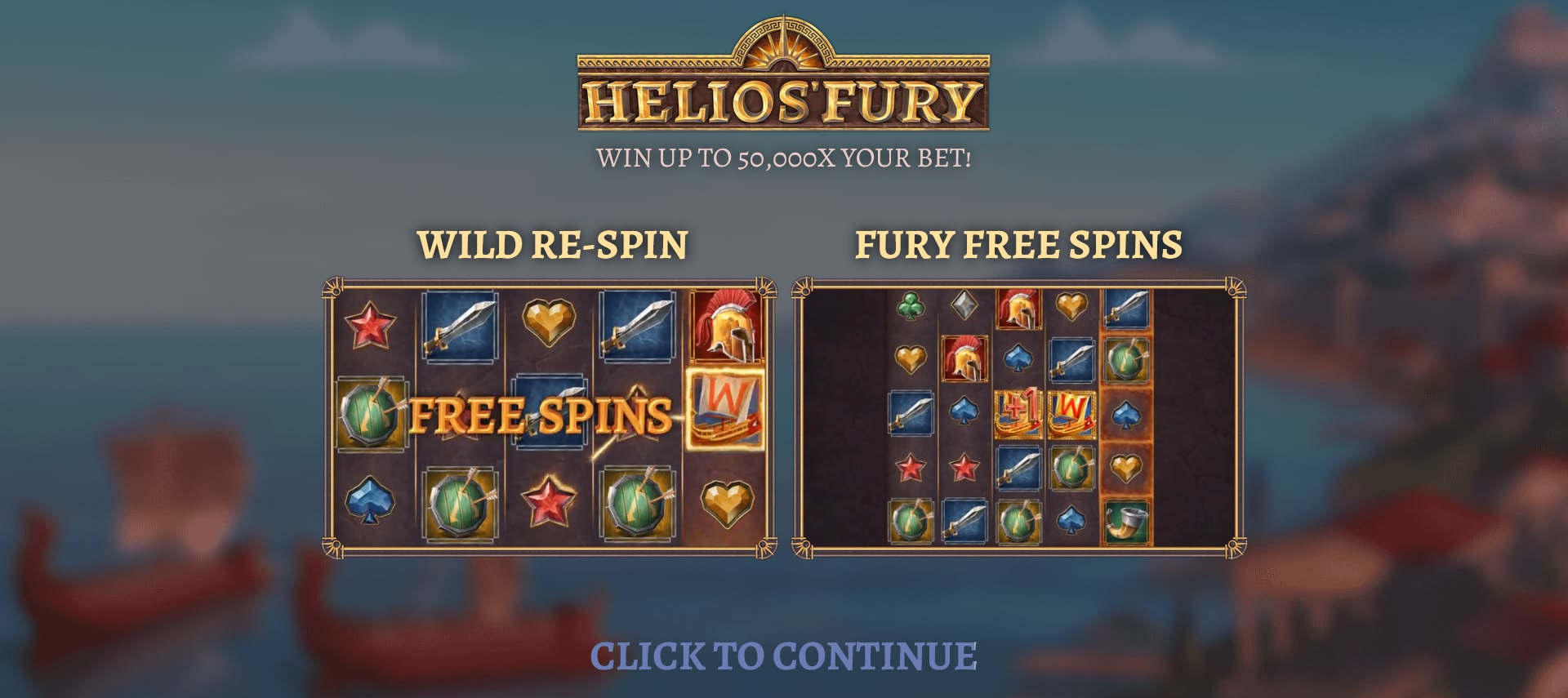 Special Features on helios fury