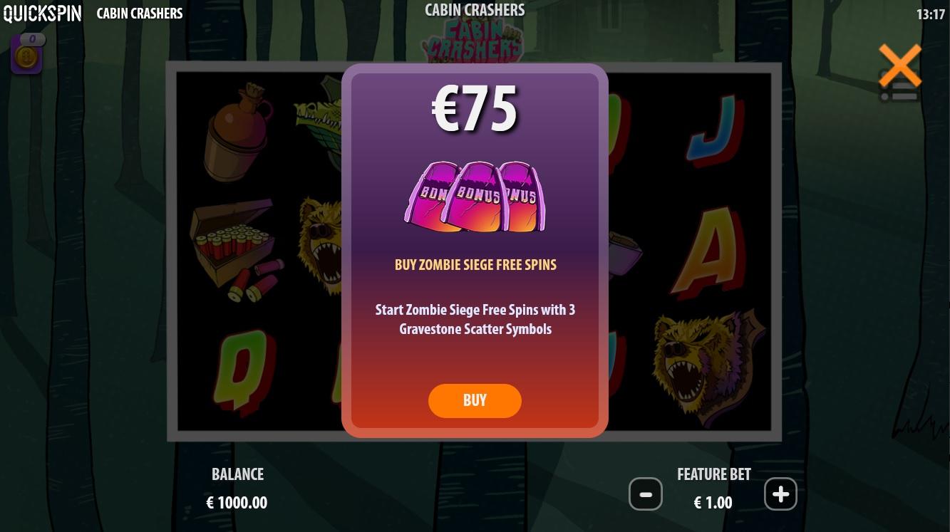 Cabin Crashers - Bonus buy feature