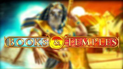Books & Temples logo