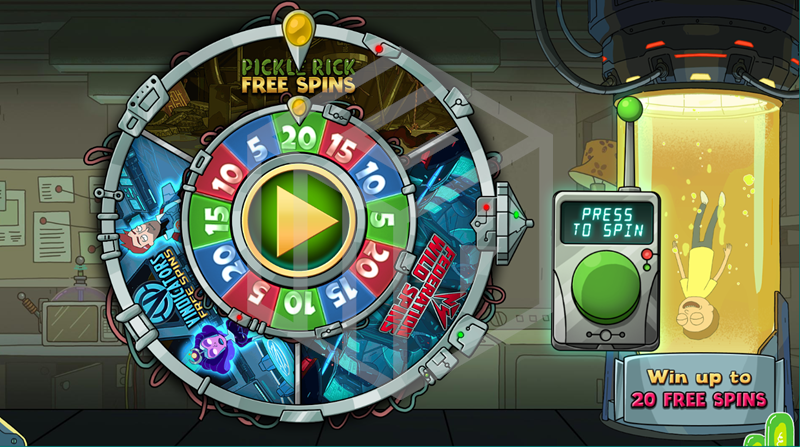 slot-rick-and-morty-slot-blueprint-bonus wheel