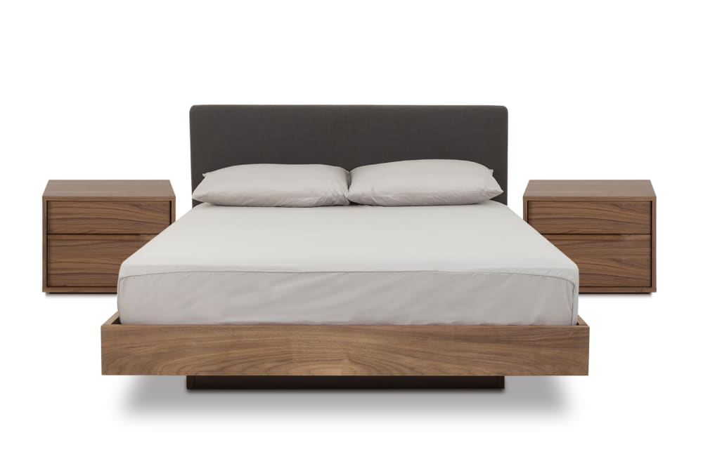 Joseph Bed With 2 Bedside Tables, Queen Bed And Bedside Tables