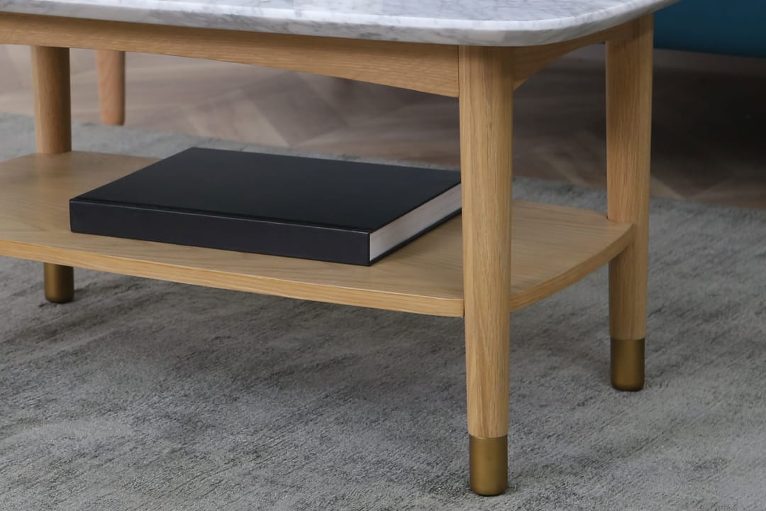 Chelsea Marble Coffee Table 90cm Castlery Australia