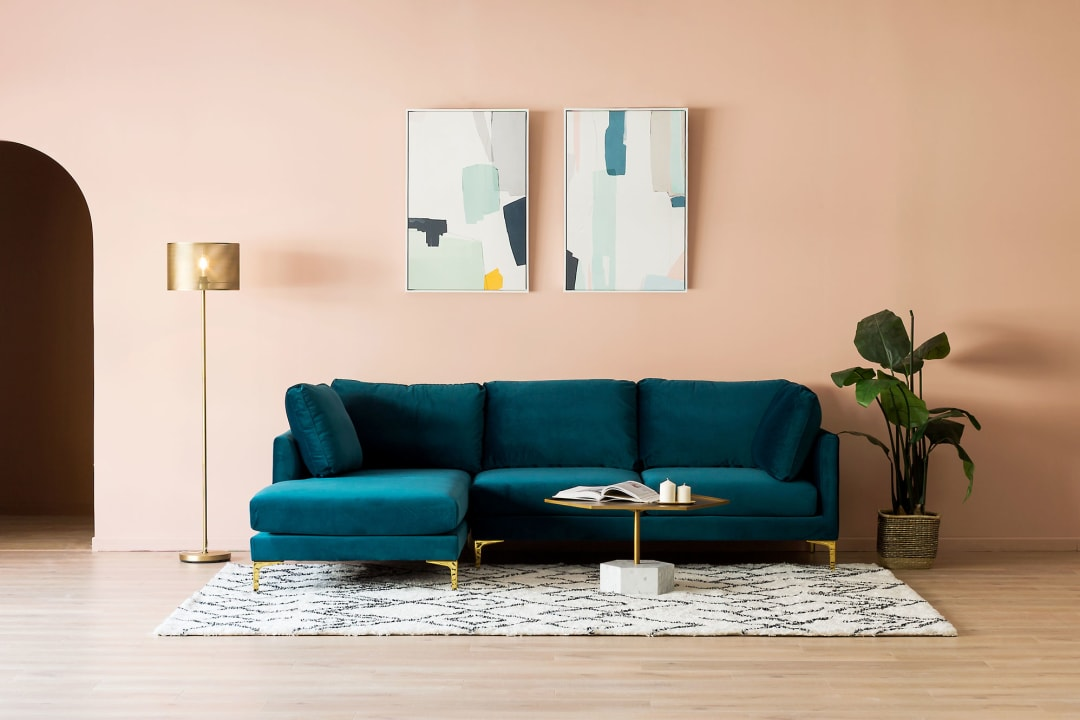 Adams Chaise Sectional Sofa