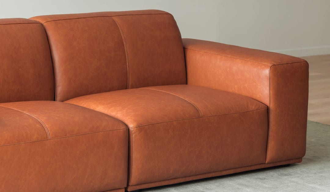 Todd Sectional Sofa Leather
