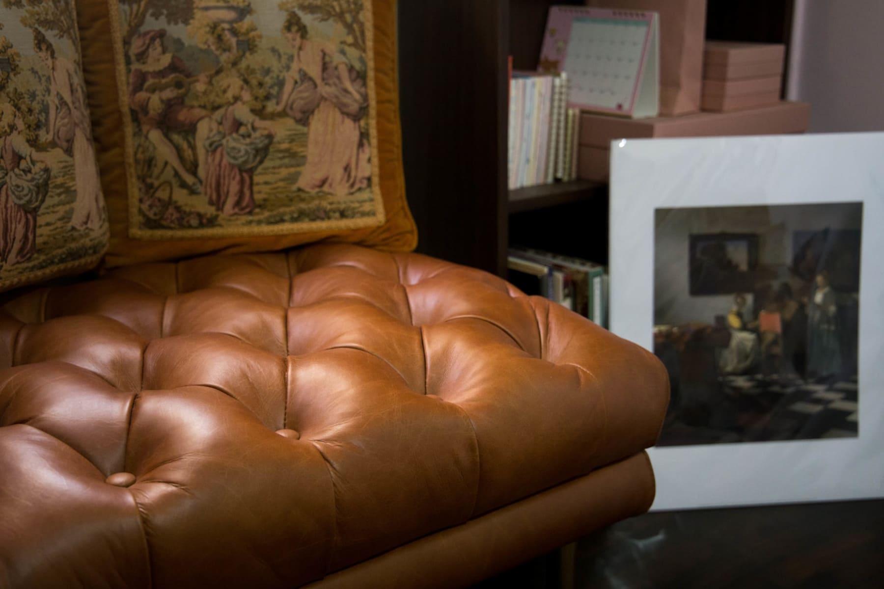 Aniline leather sofa singapore