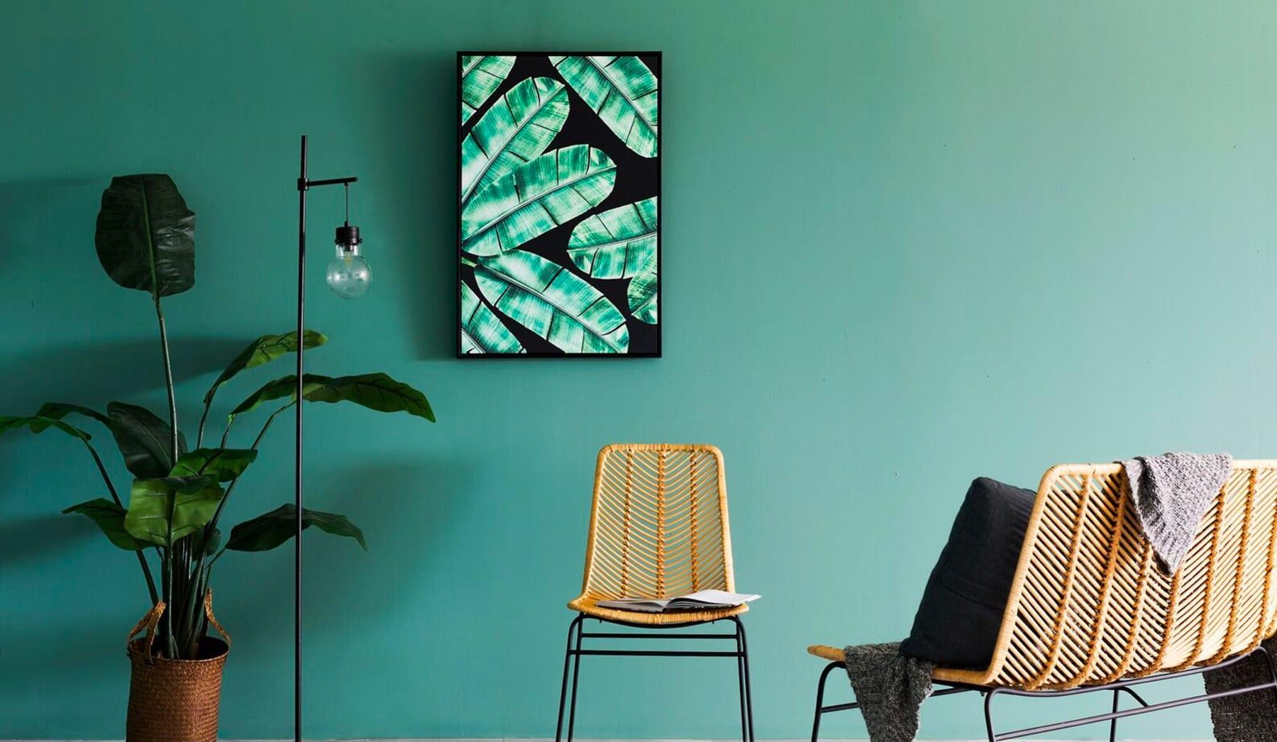 B2_Ceylan Framed Canvas