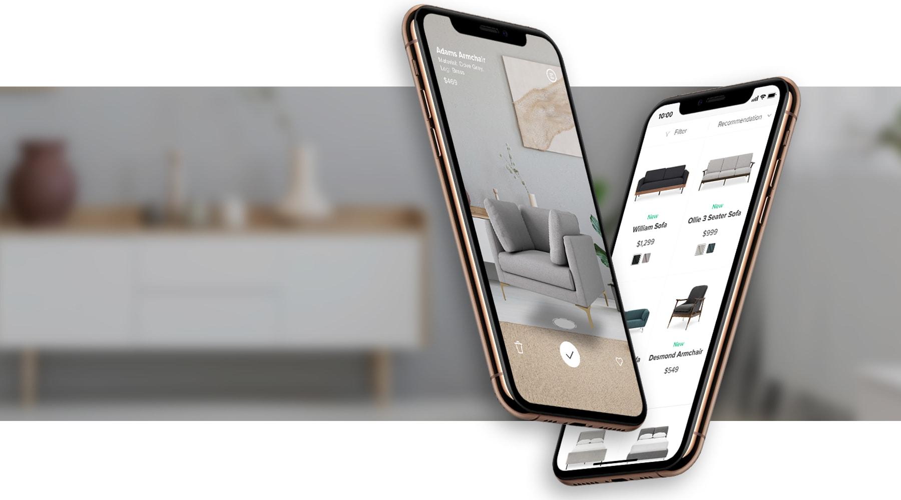 home decorating AR app