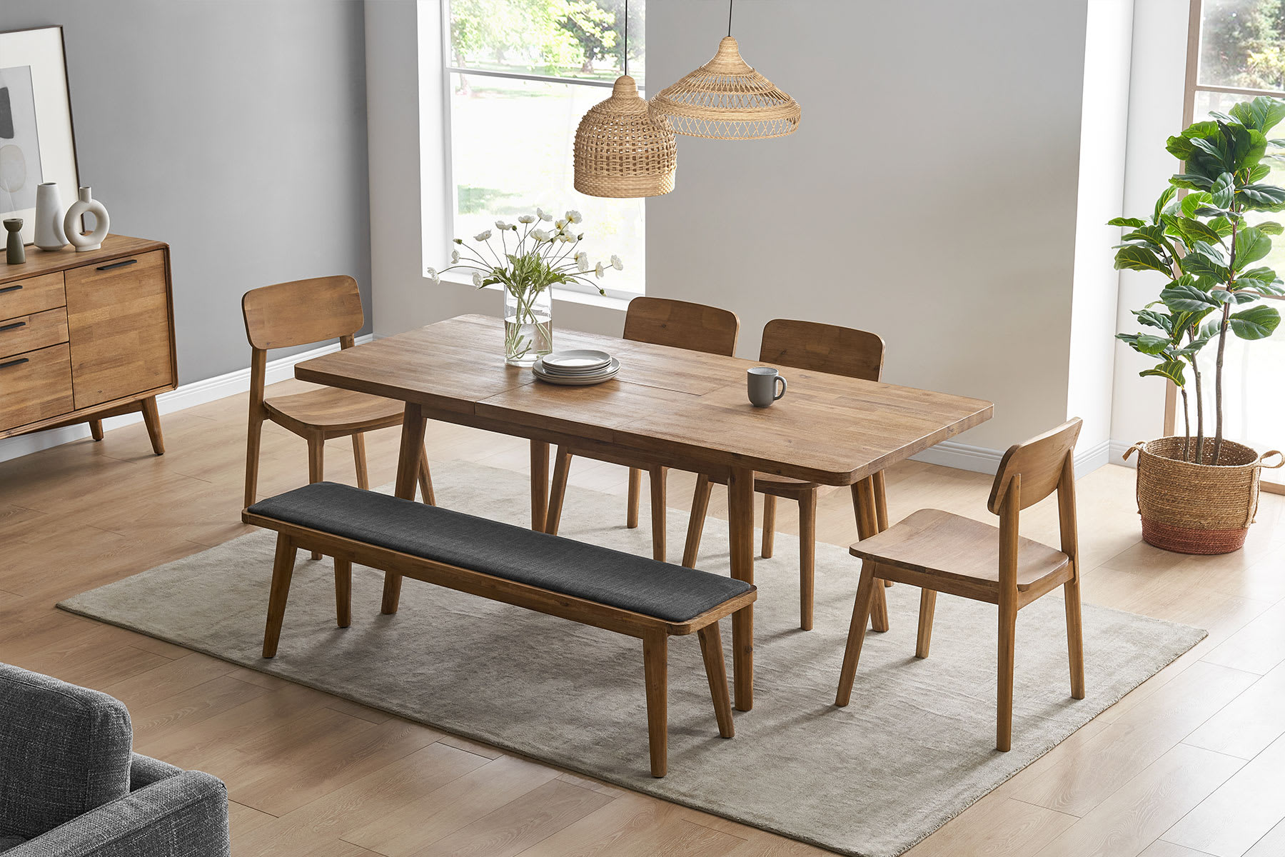 Shape Of Dining Table, Extra Long Dining Room Table Bench