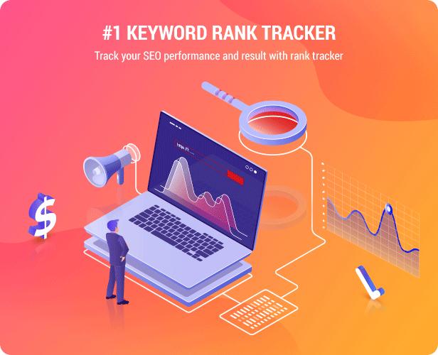 Keyword SEO Rank Tracker - WordPress SERP Rank Tracker - 1