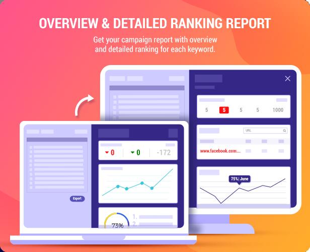 Keyword SEO Rank Tracker - WordPress SERP Rank Tracker - 5