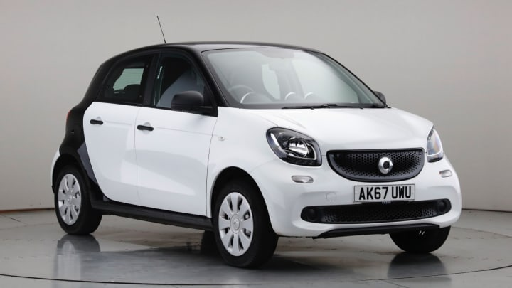 2017 Used Smart forfour 1L Pure
