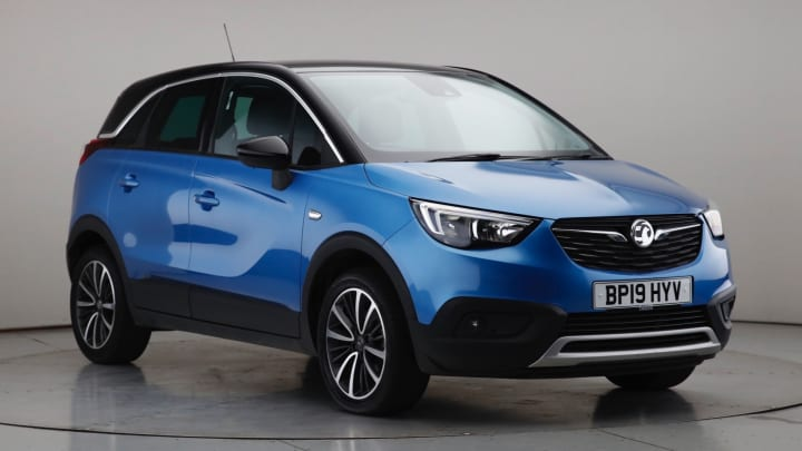 2019 Used Vauxhall Crossland X 1.2L Elite Turbo