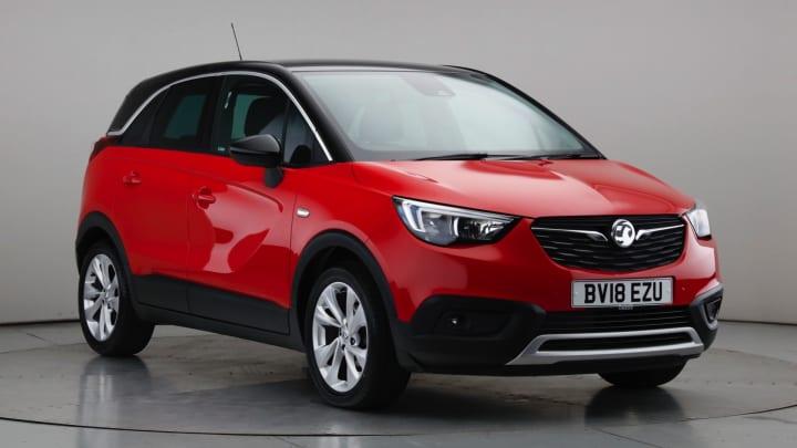 2018 Used Vauxhall Crossland X 1.2L Tech Line Nav