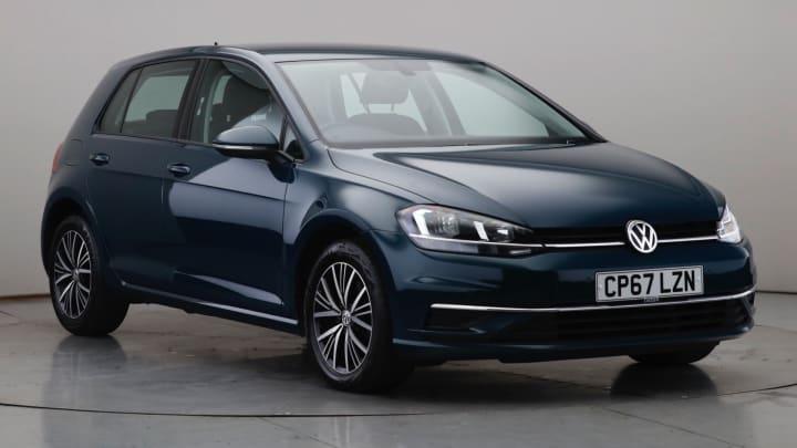 2018 Used Volkswagen Golf 1.6L SE BlueMotion Tech TDI