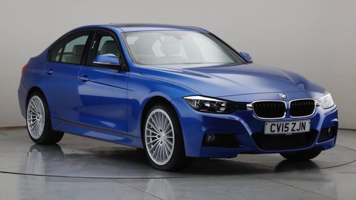 2015 Used BMW 3 Series 2L M Sport BluePerformance 320d
