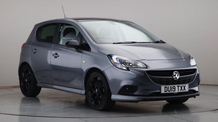 2019 Used Vauxhall Corsa 1.4L SRi VX Line Nav Black ecoTEC i