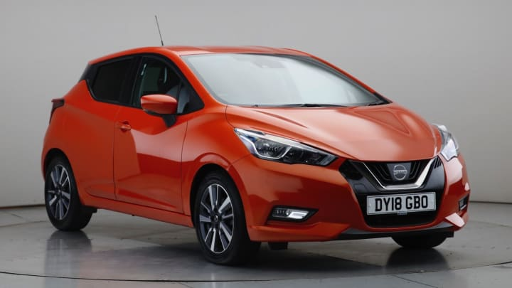 2018 Used Nissan Micra 1.5L N-Connecta dCi