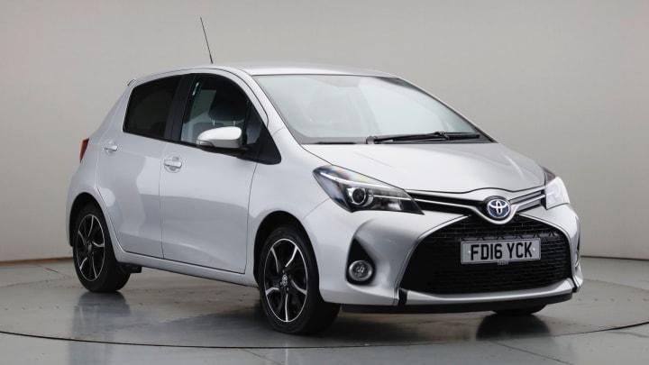 2016 Used Toyota Yaris 1.5L Design VVT-h