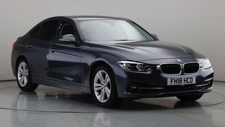 2018 Used BMW 3 Series 2L ED Sport BluePerformance 320d