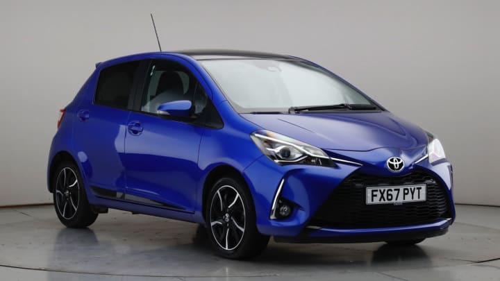 2017 Used Toyota Yaris 1.5L Design VVT-i
