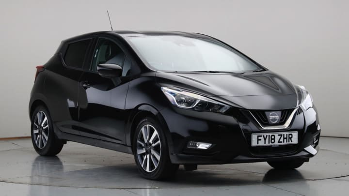 2018 Used Nissan Micra 0.9L N-Connecta IG-T