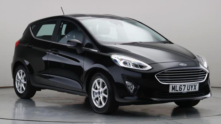 2018 Used Ford Fiesta 1L Zetec EcoBoost T