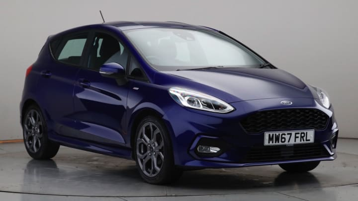2017 Used Ford Fiesta 1L ST-Line EcoBoost T