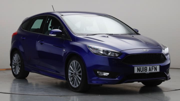 2018 Used Ford Focus 1L ST-Line EcoBoost T