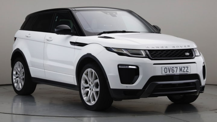2017 Used Land Rover Range Rover Evoque 2L HSE Dynamic SD4