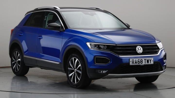 2019 Used Volkswagen T-Roc 1L SEL TSI