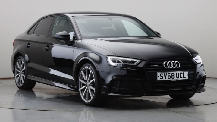 2018 Used Audi A3 2L Black Edition TFSI