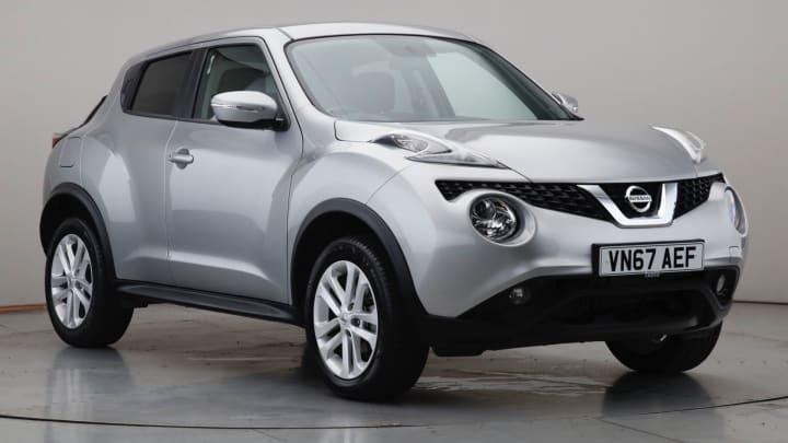 2017 Used Nissan Juke 1.6L Acenta