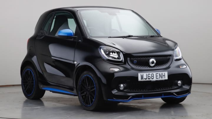 2018 Used Smart fortwo Edition Nightsky