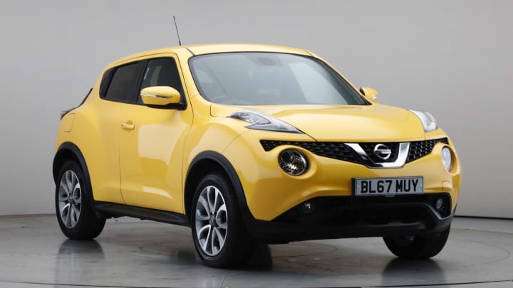 2017 Used Nissan Juke 1.6L N-Connecta DIG-T
