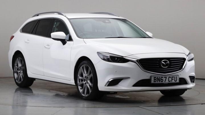 2017 Used Mazda Mazda6 2.2L Sport Nav SKYACTIV-D