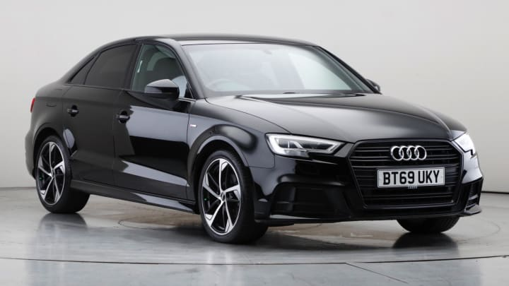 2019 Used Audi A3 1.5L Black Edition CoD TFSI