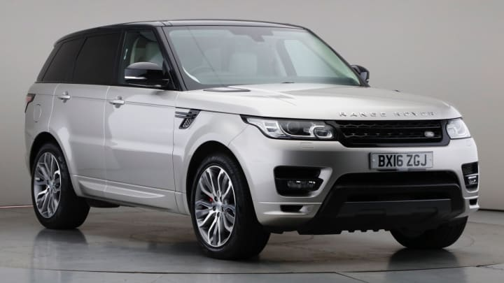 2016 Used Land Rover Range Rover Sport 3L Autobiography Dynamic SD