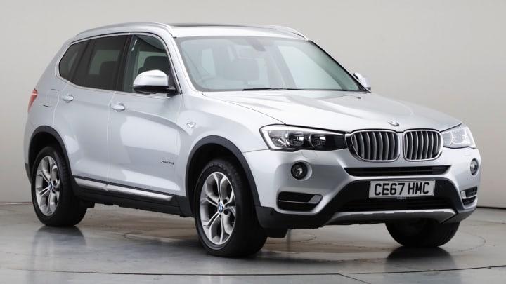2017 Used BMW X3 3L xLine 30d