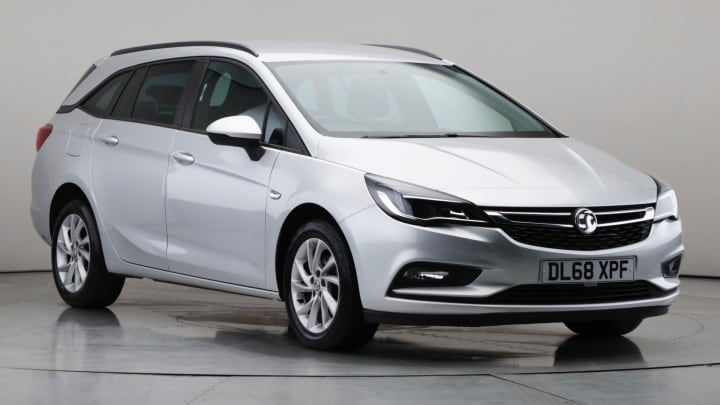 2018 Used Vauxhall Astra 1.4L Tech Line Nav i Turbo