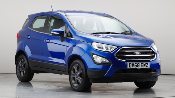 2018 Used Ford EcoSport 1L Zetec EcoBoost T