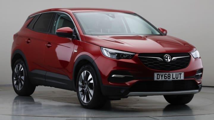 2018 Used Vauxhall Grandland X 1.6L Sport Nav BlueInjection Turbo D