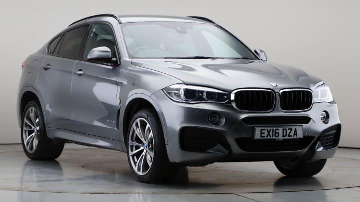 2016 Used BMW X6 3L M Sport 30d